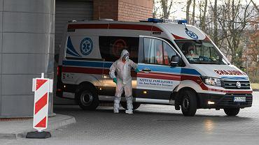 18 marca 2020 r. Oddział zakaźny szpitala miejskiego w Poznaniu, który odgrywa kluczową rolę w walce z koronawirusem