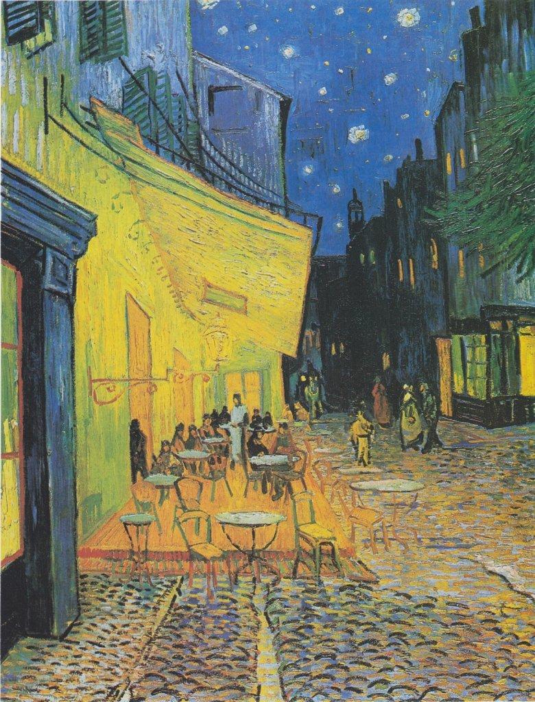 Vincent van Gogh, Taras kawiarni w nocy / domena publiczna