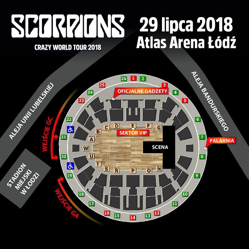 Scorpions w Łodzi
