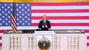 Pieniądz jednak pokona koronawirusa? Największy wzlot na Wall Street od 1933 r.