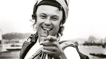 Dmitrij Didenko, sportowiec biorący udział w skokach spadochronowych