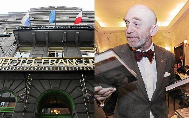 Promocja książki Adama Gesslera w Hotelu Francuskim