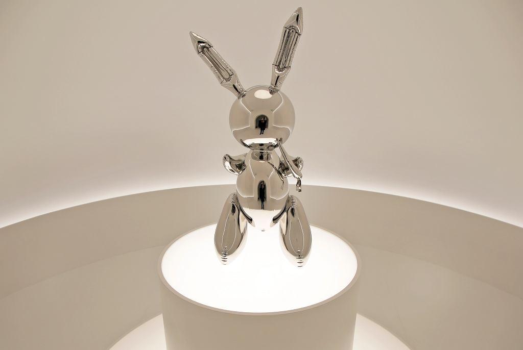 Jeff Koons - Królik