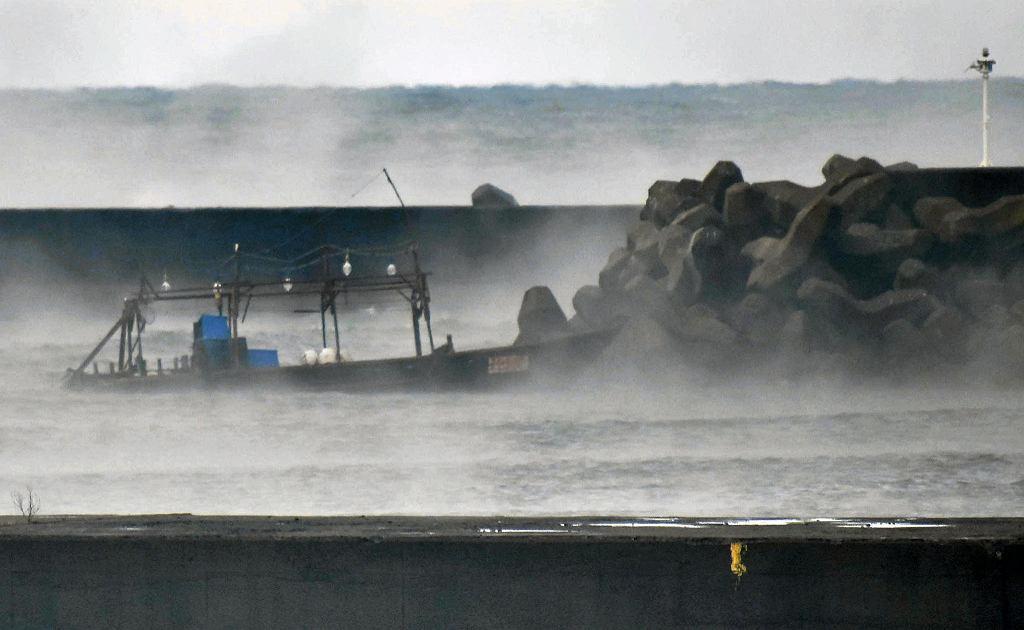 Północnokoreańska łódź w Japonii