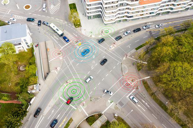 Samochody połączone z sygnalizacją świetlną