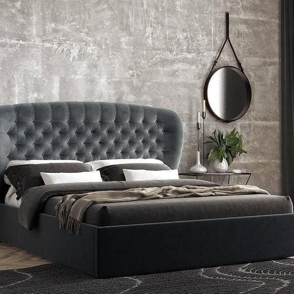 Łóżko Lavender idealnie odnajdzie się we wnętrzu każdej sypialni