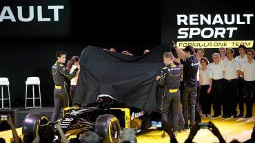 Powracające do Formuły jako team fabryczny Renault pierwsze zaprezentowało bolid na sezon 2016. Uroczystość odbyła się w podparyskim Guyancourt.
