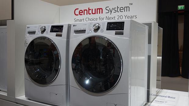 Pralki LG CentumSystem z innowacyjnym systemem stabilizacji bębna