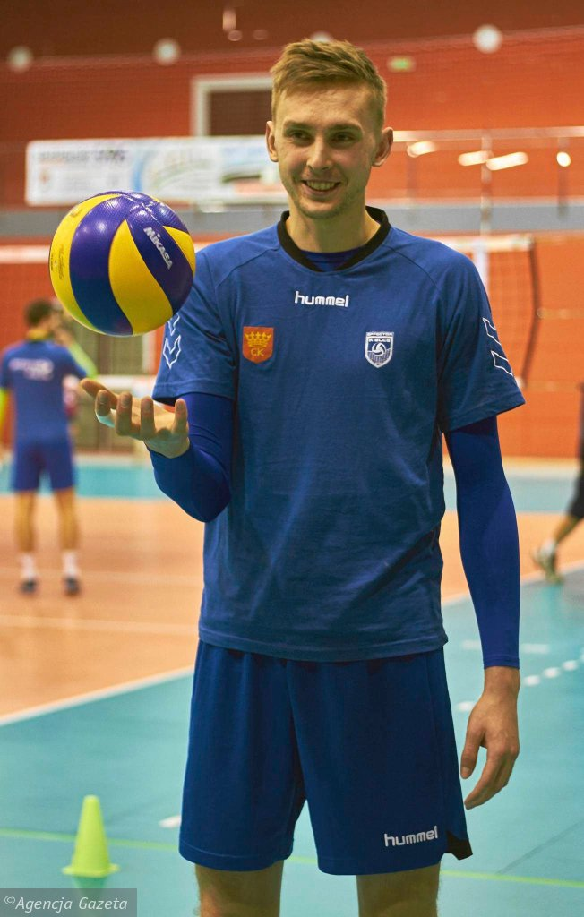 Chęciny, 8 lutego 2016 roku. Mateusz Bieniek