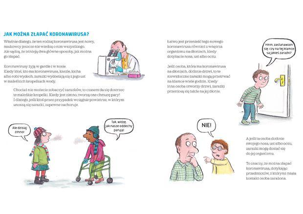 'Koronawirus. Książka dla dzieci' wydawnictwa Poradnia K już w Polsce. Możesz ją pobrać bezpłatnie