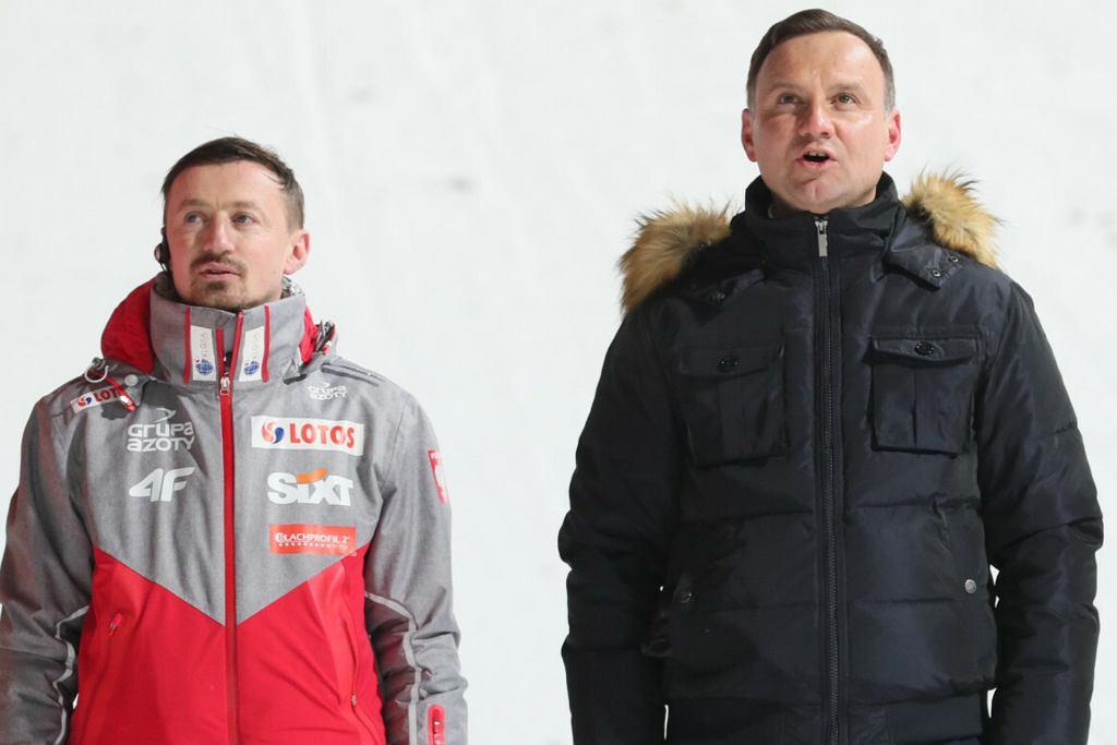 Adam Małysz, Andrzej Duda