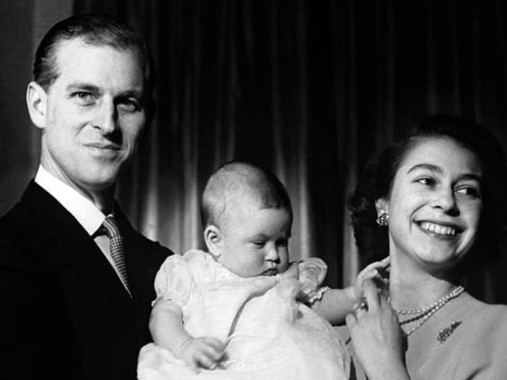 Książę Filip z rodziną