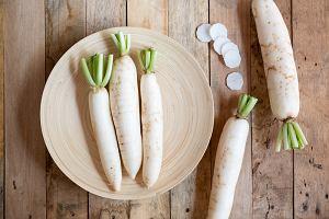 Biała rzodkiew - wartości odżywcze i przepisy