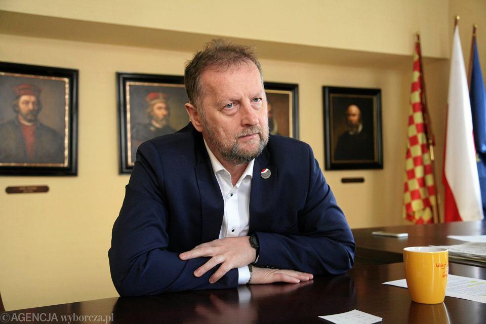 Prezydent Lubina Robert Raczyński, 23 października 2018 r.