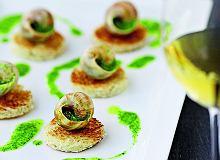 Ślimaki po burgundzku z masłem czosnkowo-ziołowym - ugotuj
