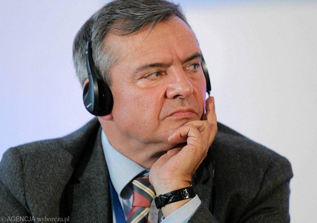 Jerzy Baczyński, redaktor naczelny tygodnika ''Polityka''