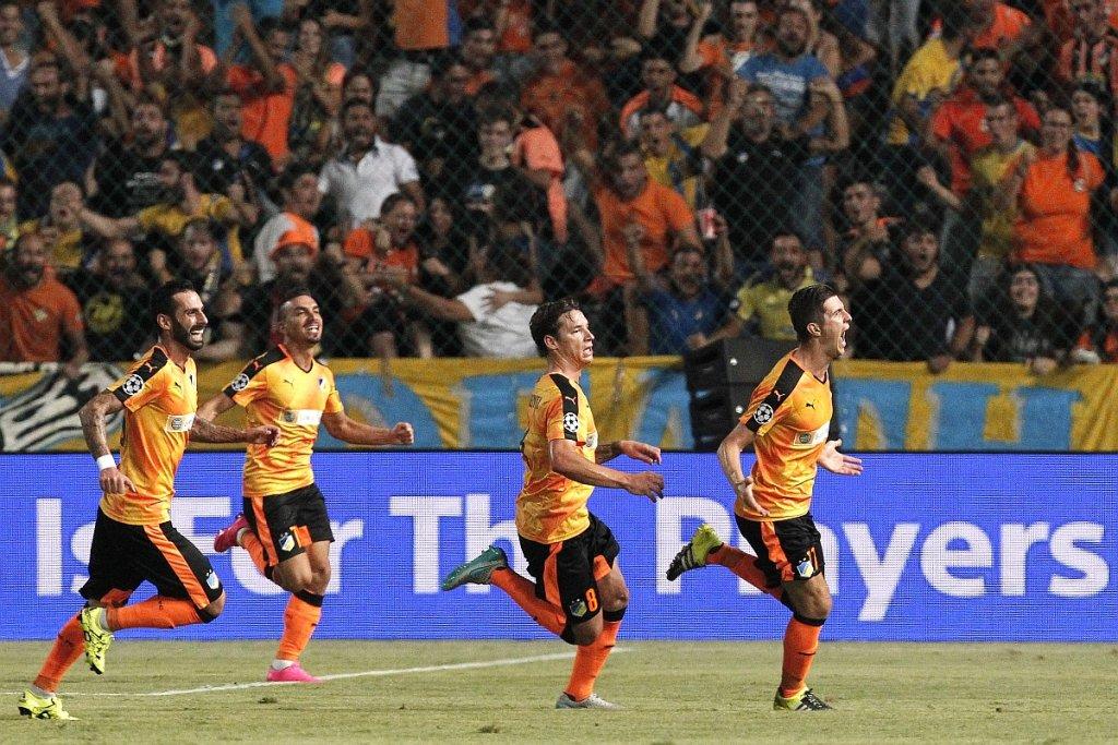 APOEL Nikozja - FK Astana. Semir Stilić