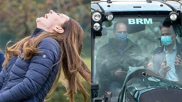Książna Kate i książę William