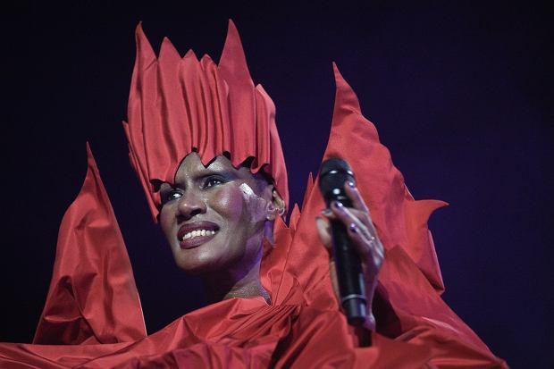 Koncert Grace Jones w Utrechcie