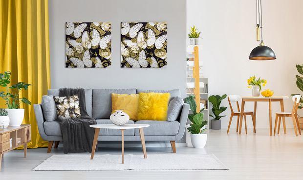 Żółty kolor we wnętrzach - wybierz dodatki w modnym odcieniu