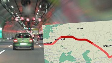 Rosja Tworzy nowy 'Jedwabny Szlak'. Tym razem drogowy