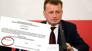 Decyzję o przyznaniu odznaki podpisał wiceminister Jarosław Zieliński