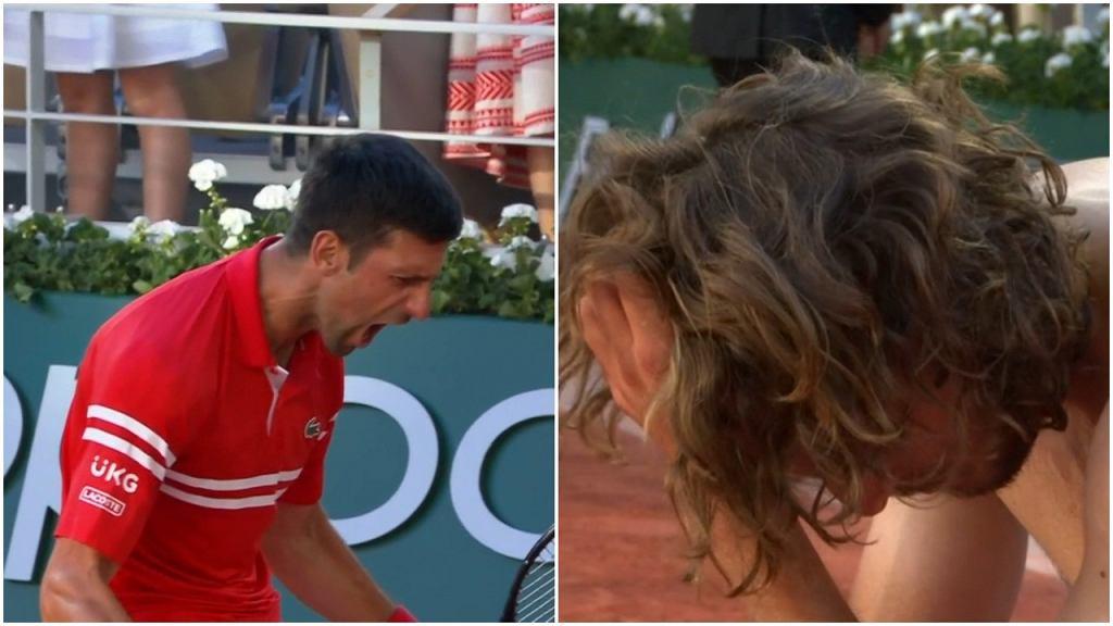 Novak Djoković wygrał z Stefanosem Tsitsipasem w finale Rolanda Garrosa