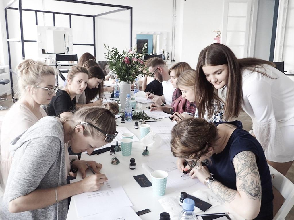 Kurs kaligrafii nowoczesnej / styletter.pl