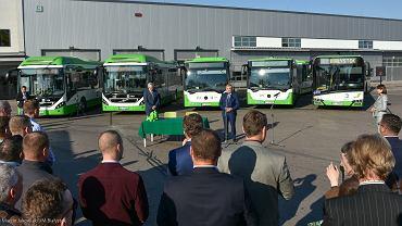 Białystok, Podpisanie umowy na dostawę 22 autobusów niskoemisyjnych