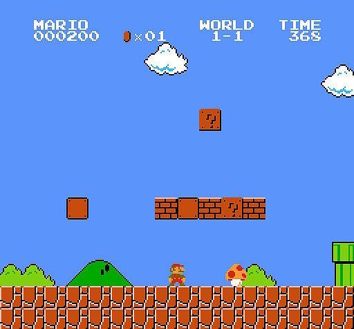 Jest nowy rekord sprzedaży gier wideo, ponad 2,5 mln złotych za Mario