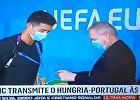 Ochroniarz musiał się upewnić, czy to na pewno Cristiano Ronaldo [WIDEO]