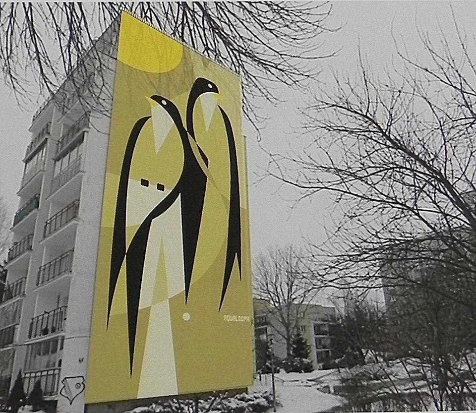 Drugie miejsce przyznano pracy 'Jaskółki' autorstwa Igora Chołdy (wizualizacja).