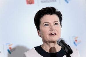 Urząd Skarbowy zajął pieniądze na rachunku Gronkiewicz-Waltz