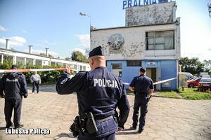 Zabójstwo w pralni w Gorzowie. Zastrzelono młodą kobietę