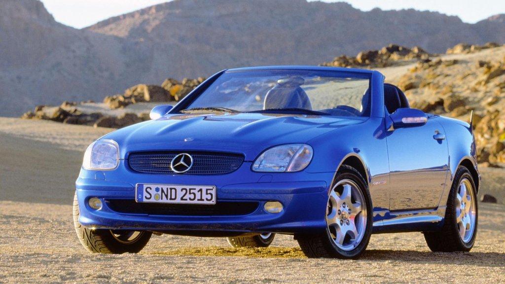 Mercedes SLK pierwszej generacji