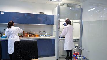 Laboratorium spółki Bioten