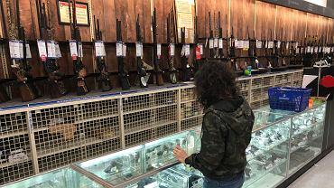 Sklep z bronią w Luizjanie