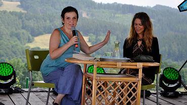 Festiwal Góry Literatury - dzień drugi 17 lipca 2020 roku - Joanna Lamparska i Karolina Kuszyk