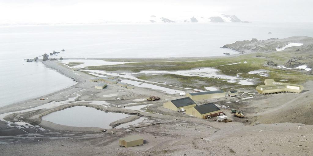 Projekt nowego budynku głównego Polskiej Stacji Antarktycznej