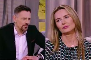 Krzysztof Ibisz i Hanna Lis w 'Demakijażu'