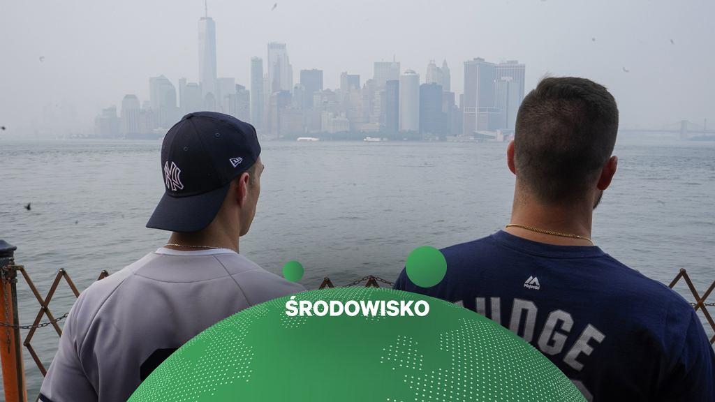 Nowy Jork za dymem
