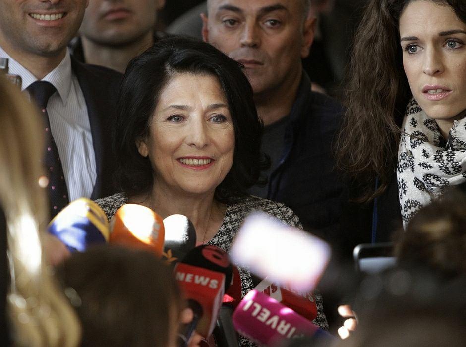 Wybory prezydenckie w Gruzji wygrała Salome Zurabiszwili