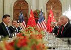 Światowa wojna handlowa odłożona. Donald Trump i Xi Jinping ogłaszają zawieszenie sporu