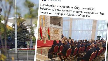 Zaprzysiężenie prezydenta Białorusi