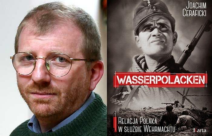 prof. dr. Jerzy Kochanowski i okładka książki
