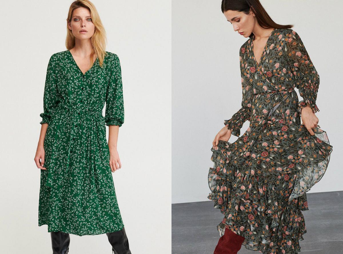 Jesienne sukienki z sieciówek w świetnych cenach!