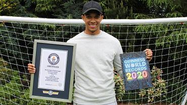 Piłkarz Liverpoolu został wpisany do Księgi Rekordów Guinnessa