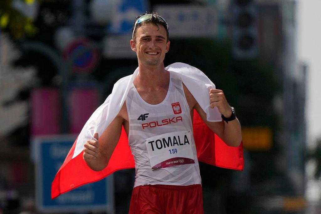 Tokio 2020. Mistrz olimpijski w chodzie na 50 km Dawid Tomala