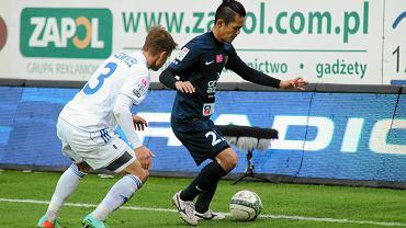 Takafumi Akahoshi w wiosennym meczu z Ruchem strzelił gola i zaliczył asystę