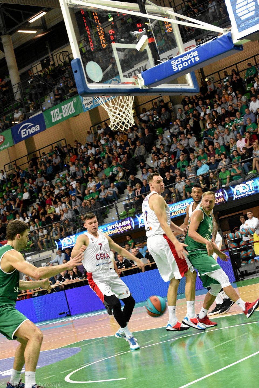 Zdjęcie numer 27 w galerii - Bez niespodzianek, CSKA dała Stelmetowi lekcję koszykówki [ZDJĘCIA]